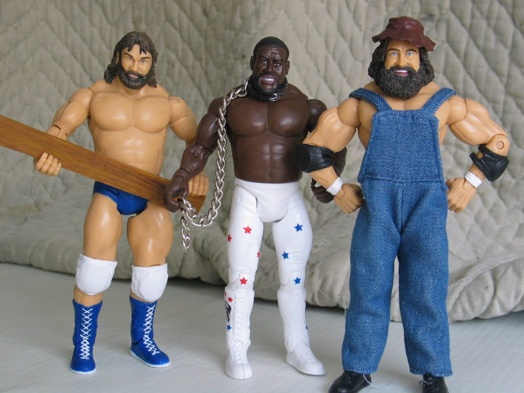 WWF fighters