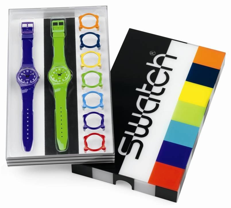 Colorful Swatch Watches new in the package