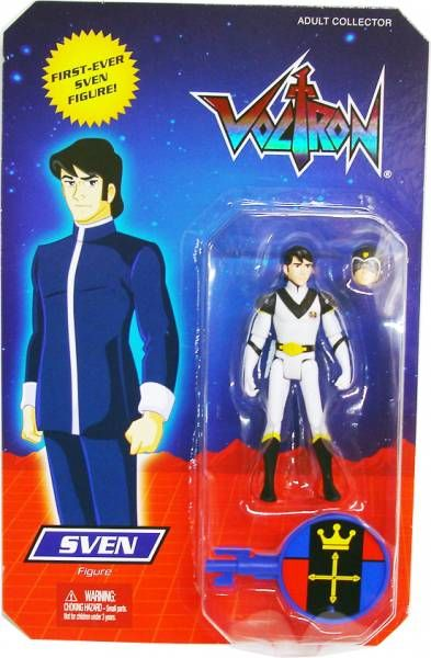 "Voltron Figure ""Sven"" in package"