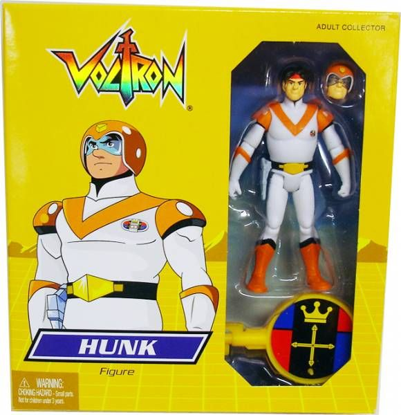 "Voltron Figure ""Hunk"" in package"