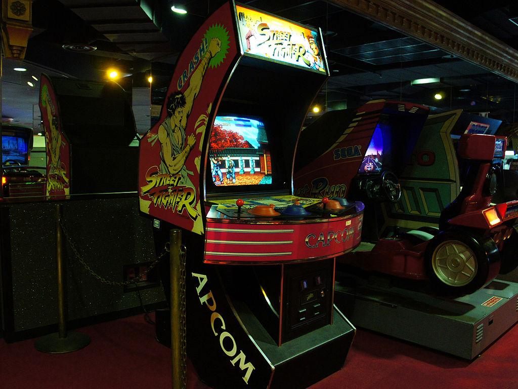 Original OG Street Fighter Arcade Game in a big cabinet