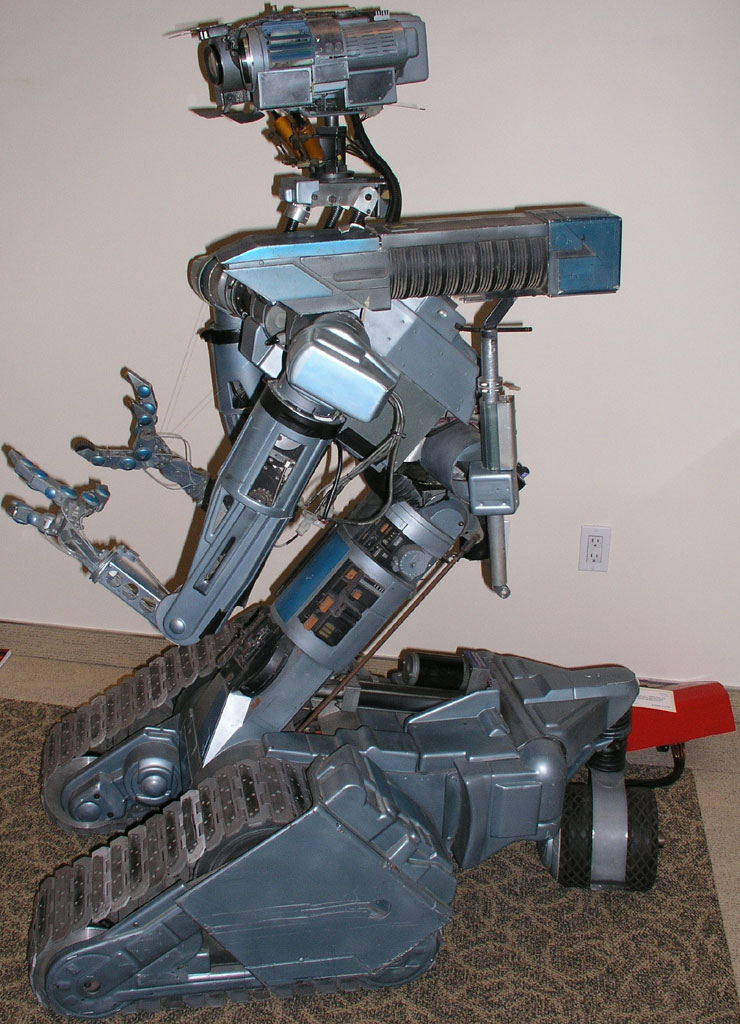 """Number 5"" robot from the movie Short Circuit"